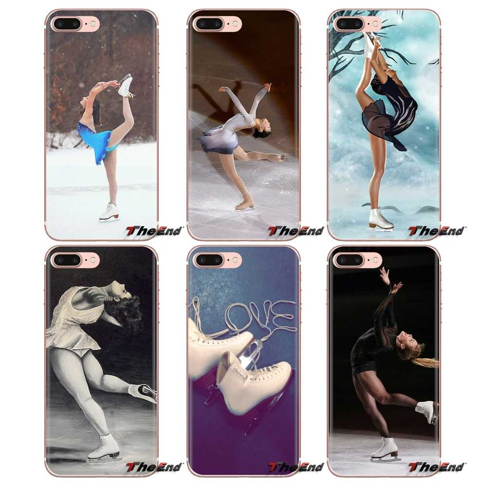 Figure skating and Ice Skating Phone Cases For iPhone XS Max XR X 4 4S 5 5S 5C SE 6 6S 7 8 Plus Samsung Galaxy J1 J3 J5 J7 A3 A5