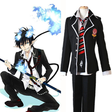 Anime Blue Exorcist Cosplay Costumes Rin Okumura Costume School Uniforms Halloween Party Game Ao No