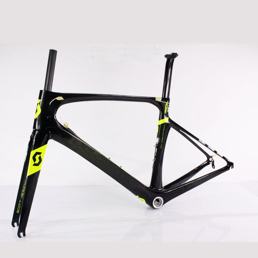 УГЛЕРОДНЫЙ шоссейный велосипед рама T1000 новая модель 47/49/52/54/56 см логотип из фольги, углеродный руль для велосипеда рамка с DI2 отверстие
