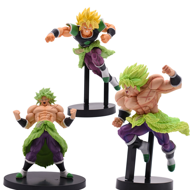 New Arrival Dragon Ball Z Super Saiyan Broly Full Power PVC Action Figure Toy Collectible Model Great Birthday Christmas Gift