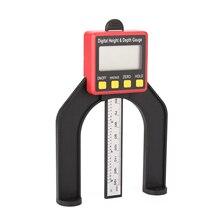 Ruler Altimeter Depth-Gauge Display-Height Digital LCD 0-80mm Measuring-Tools Woodworking