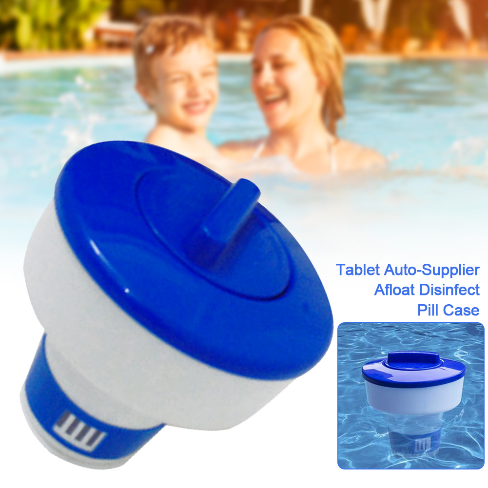 5 Inch 8 Inch Swimming Pool Spa Chlorine Bromine Chemical Tablet Auto-Supplier Tab Floater Dispenser Afloat Cleaning Euipments