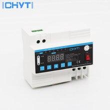 ICHYTI – sur-tension et sous-tension réglables, courant et fuite, dispositif de protection contre la foudre, relais de rétraction 40A 63A