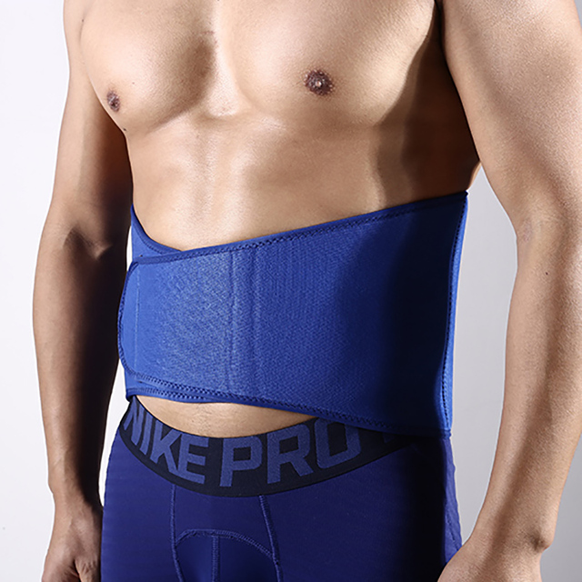 1 PCS Slim fit Abdominal Waist sweat belt Sports Waist trimmer Support Safety Back Support Lumbar Band Protective