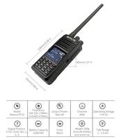 uhf dual band RETEVIS RT52 DMR רדיו דיגיטלי מכשיר הקשר Dual PTT Dual Band DMR VHF UHF GPS שתי דרך רדיו המוצפן Ham חובב רדיו + כבל (4)