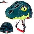 KINGBIKE Детский велосипедный шлем сверхлегкий Детский велосипедный шлем casco bicicleta для шоссейного велосипеда шлем для катания на коньках скуте...