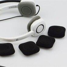 OOTDTY – cache-oreilles en mousse souple, 2 pièces, coussin pour casque Logitech H150 H130 H250 H151