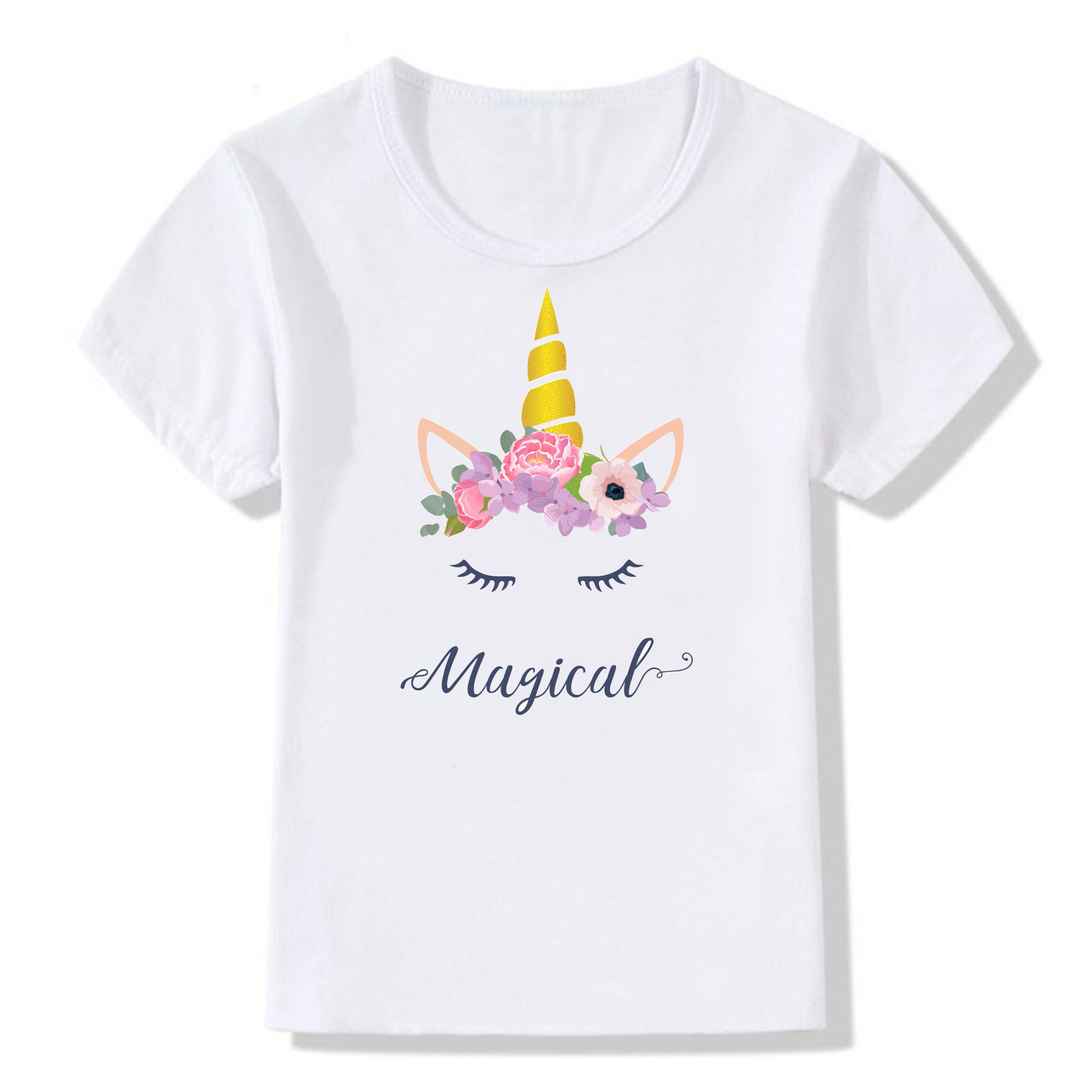 <font><b>2</b></font> 4 6 8 10 11 Years Old Tshirt Teenager Girl Boys T <font><b>Shirts</b></font> Short Sleeve O-neck Children Casual Tee Girls <font><b>Shirts</b></font> KT-2252 image