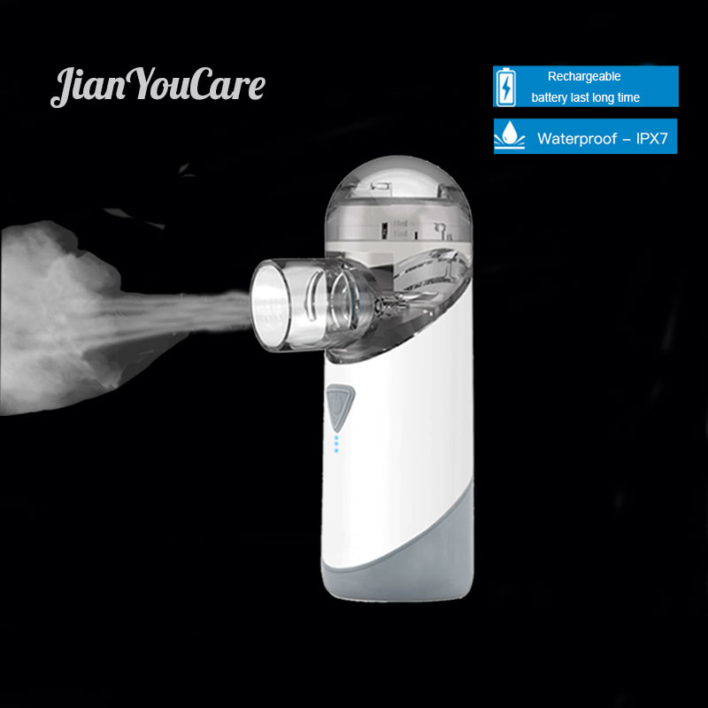 JianYouCare Mesh Nebulizer Medical Portable Atomizer Rechargeable USB Inhaler Baby Waterproof Asthma Inhalator Inalador For Kids