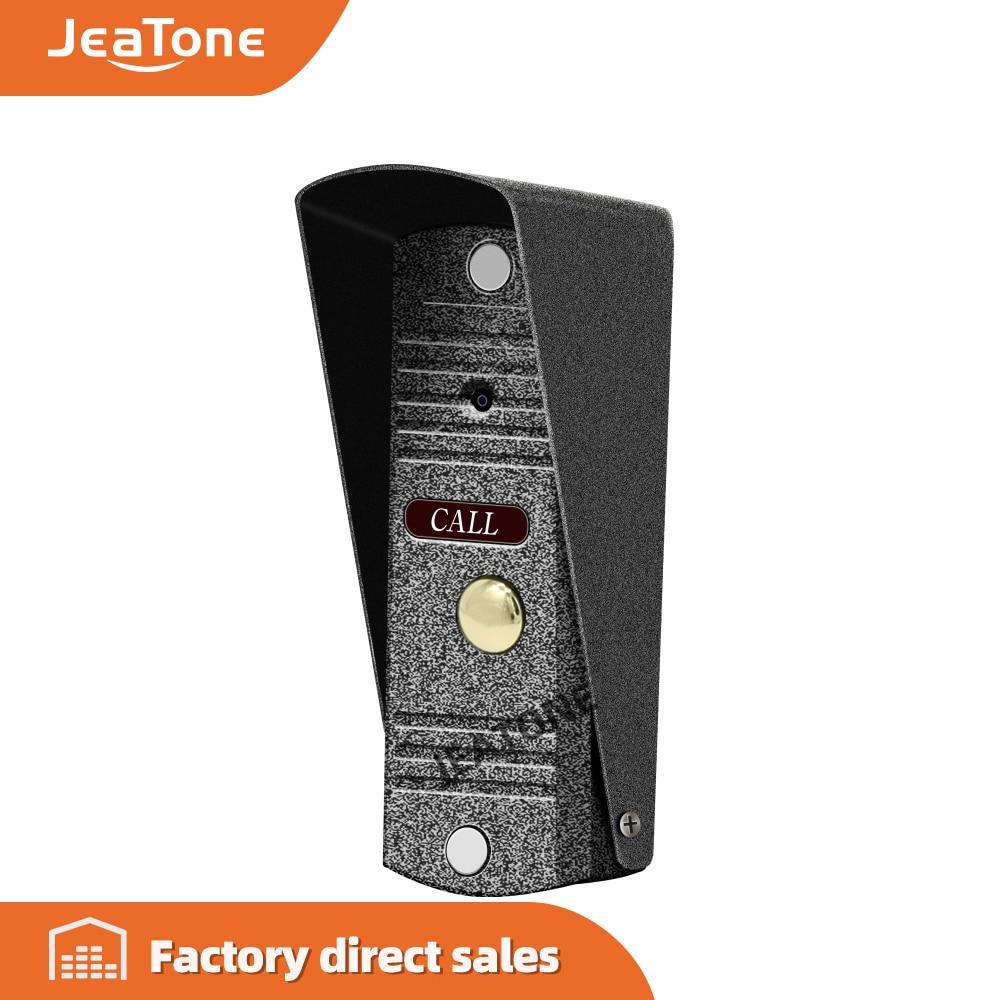JeaTone Video Door Bell IR Camera 1200TVL Pin Hole Lens Camera High Resolution Camera IP65 Waterproof IR Night Vision Outdoor