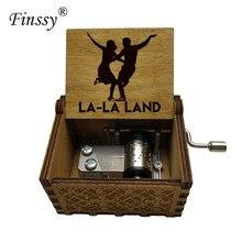 Filme impressão música tema la la land caixa de música presente de aniversário para o dia dos namorados de natal presentes especiais para os amantes das crianças