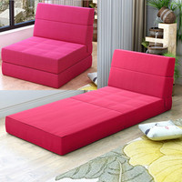 Folding Sofa Bed Living Room Furniture Sponge Filler Soft Lazy Sofas Removable and Washable Balcony Chair High Quality