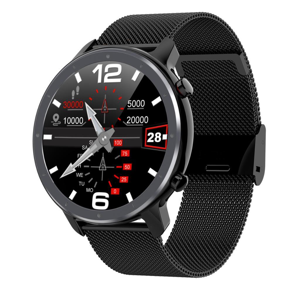 Смарт часы для мужчин умные ЭКГ + ПГБ пульсометр монитор кровяного