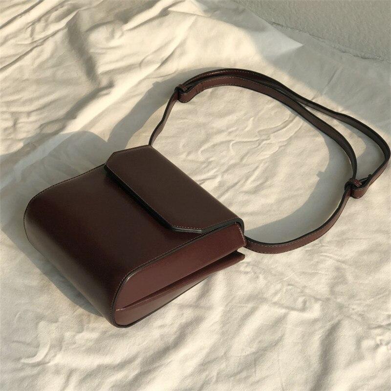 Women Black Flap Bag Cover Shoulder Bags For Women 2020 Mini Ladies Hand Bags Large Capacity College School Girls Crossbody Bag