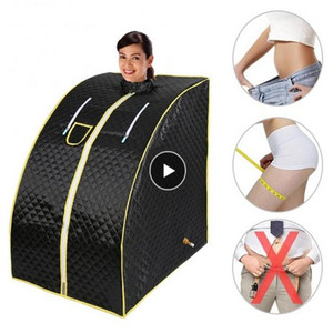 5 Colors Portable Steam Sauna Home Sauna Spa Tent Weight Bath Slimming Loss Calories Home Steam Sauna Bath Spa Relaxes Tired HWC(China)