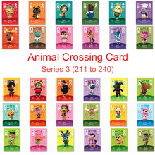 Series 3 (211 to 240) Animal Crossing Card Amiibo Card Work for NS 3DS Switch Games Lily Mitzi Marina Villager Card Amibo