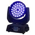 2 шт. 19X15W LED Zoom Moving Head Light RGBW Wash 36x12W 36x15W DMX512 Beam Party Stage Dj оборудование 36X18W RGBWA UV 6in1 SHEHDS