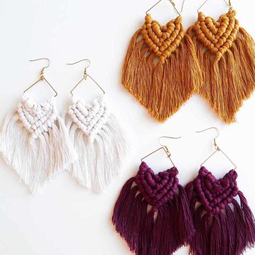 Colorful Bohemian Feather Dangle Drop Earring Gifts for Women Girls Jewelry000001001516