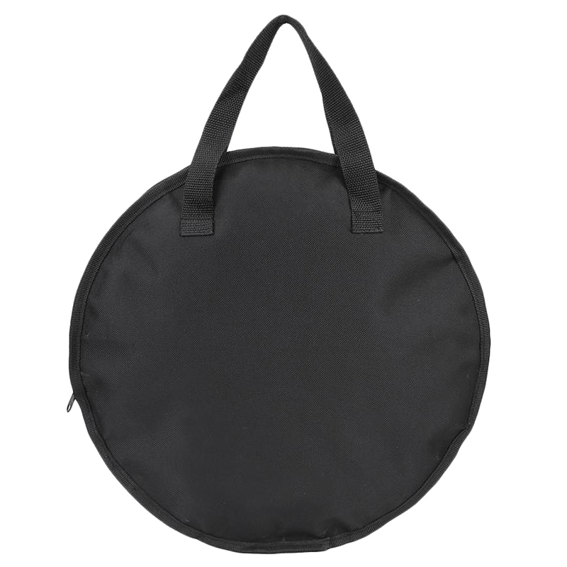 Portable 12 Inch Dumb Drum Practice Pad Bag Black Oxford Cloth Carrying Bag Case Percussion Instrument Accessories