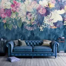 Обои на заказ в скандинавском стиле минималистичные Ретро абстрактные розы для спальни фон обои домашний Декор 3d обои