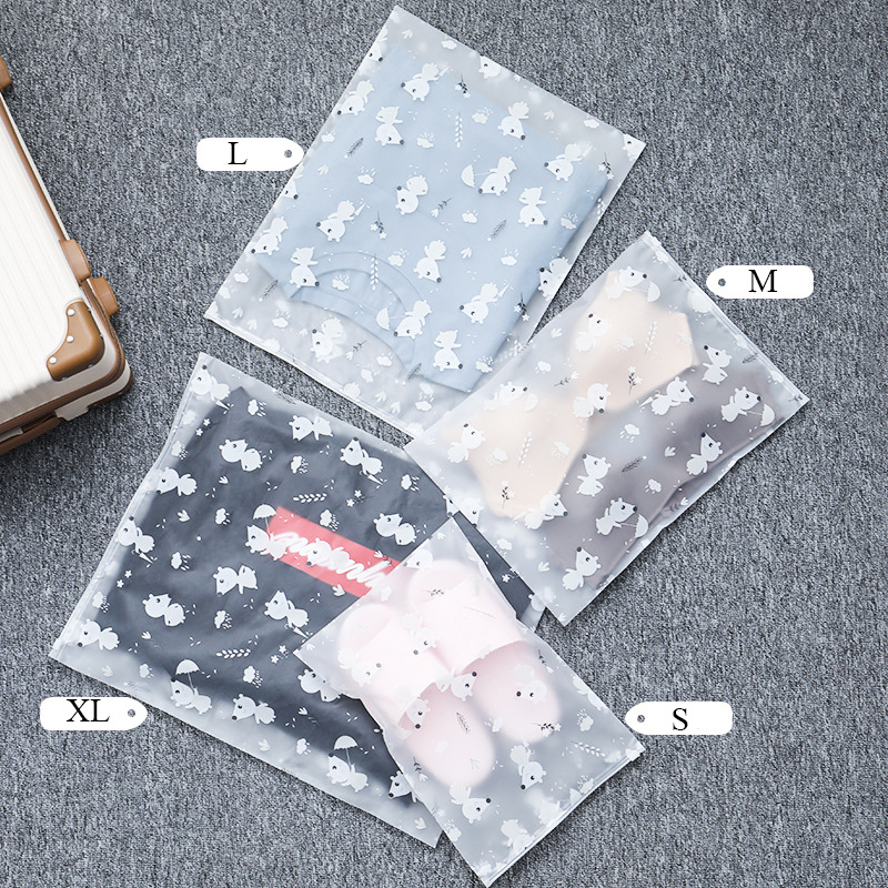Hot Cartoon Mouse Transparent Cosmetic Bags Travel Makeup New Case Zipper Make Up Organizer Storage Pouch Toiletry Wash Bath Kit