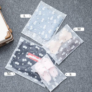 Storage-Pouch Make-Up-Organizer New-Case Travel Transparent Cartoon Hot Wash Zipper Cosmetic-Bags