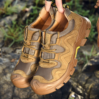 Fashion Men Shoes Casual Genuine Leather Shoes Men Breathable Lightweight Mans Footwear High Quality Zapatos De Hombre w5