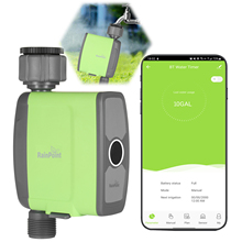 Water-Flow-Meter Timer Hose-Faucet Watering-Sprinkler-System Programmable Wifi Automatic