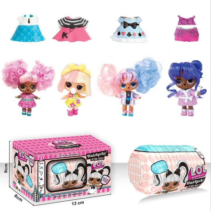 Hot Sell LoL Surprise Demolition Capsule Ball Original LoL Dolls Kids Toys Action Figure Model Children Education Birthday Gifts