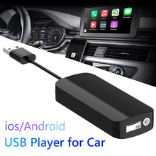 Reproductor de navegador Mini USB para coche CarPlay, adaptador Dongle USB con cable para Android 4,2, unidad principal de coche