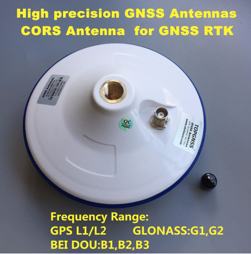GNSS RTK Antenna Differential GPS GLONASS GALILEO Butterfly Disc Multi-Frequency Transmitting Antenna
