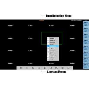 Image 2 - H265/H264 16CH * 5MP NVR רשת מקליט וידאו דיגיטלי 1 SATA כבל זיהוי תנועה P2P CMS XMEYE אבטחה