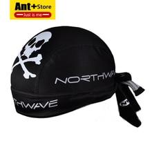 Gorra de ciclismo para hombre y mujer, gorro de pirata para deportes al aire libre, diadema deportiva con absorción de sudor y pañuelo de secado rápido, color negro