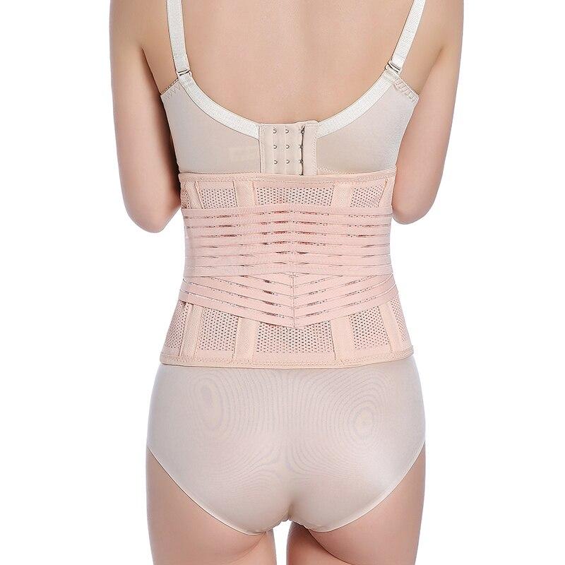 ZTOV Maternity Postpartum Belt Plus Size Women Waist Trainer Corsets and Bustiers Black Slimming Waist Corset