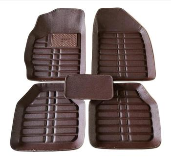Durable Wear-Resisting Leather Car Floor Mats Special Pads For Opel Mokka All Weather Floor Mats image