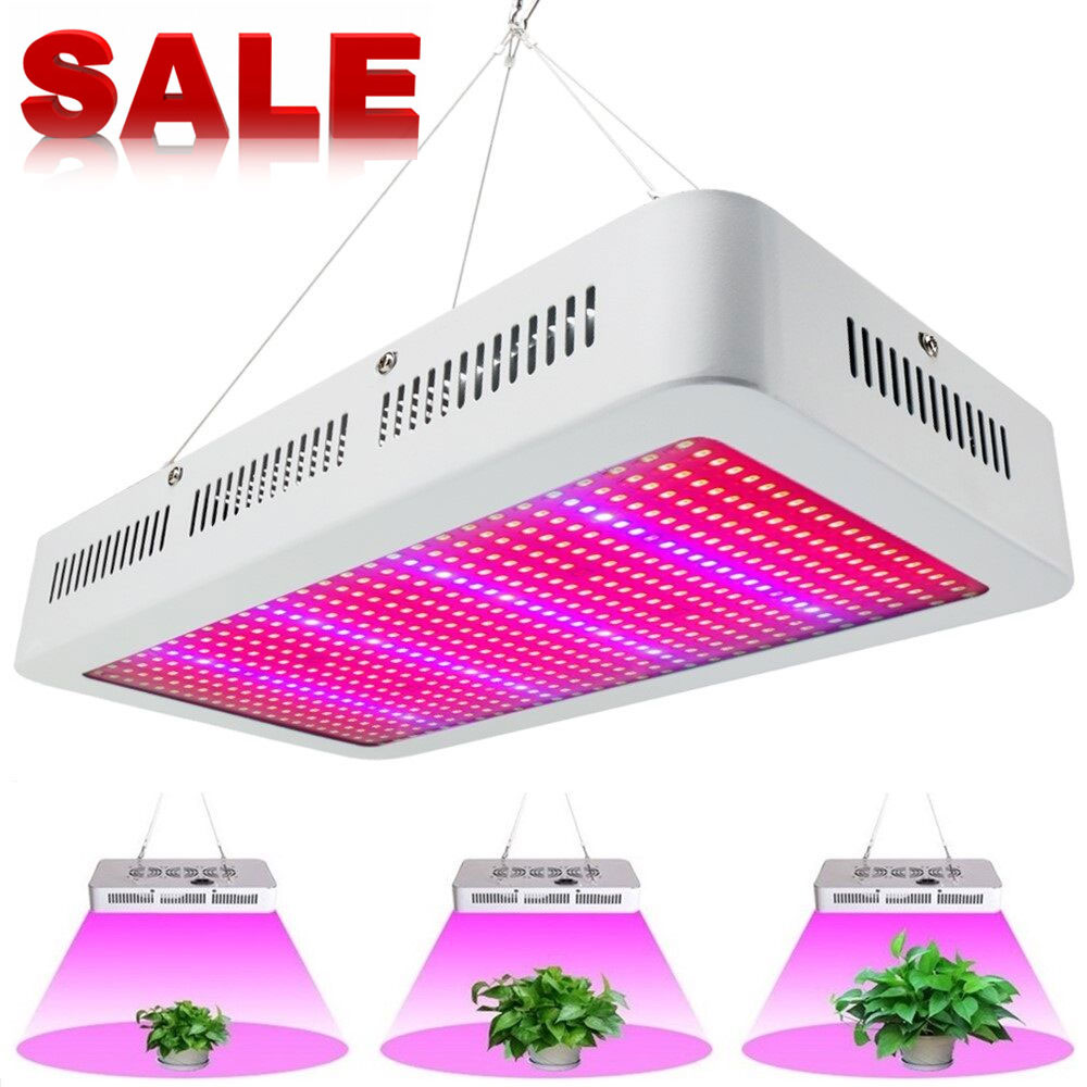 (4pcs/Lot) Full Spectrum 600W LED Grow Light Red/Blue/White/UV/IR SMD5730 Plant Lamp Best For Growing and Flowering Wholesale