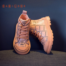 Martin Boots Girls Fashion Spring New Autumn BAMILONG Y235 Leisure High-Quality