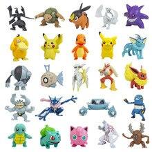 5-10cm figuras pokemon brinquedos psyduck pikachu charizard figura de ação modelo boneca pokemon pvc brinquedo presente de aniversário para crianças
