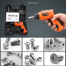 4.2V Screwdriver Electric Hand Drill Rechargeable Electric Hammer Drill Electric Screwdriver Household Electric Cordless Drill