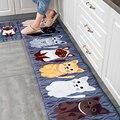 Коврики для ванной  кухни  коврики с изображением животных  кошек  нескользящий коврик для гостиной