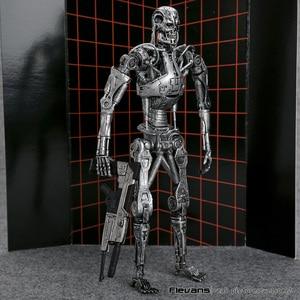 "Image 3 - Die Terminator Endoskeleton PVC Action Figure Sammeln Modell Spielzeug 7 ""18cm"