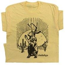 Jackalope T Hemd Coole Vintage Grafik Seltsame Loch Ness Monster Cryptid Neuheit Männer Kleidung T Shirt
