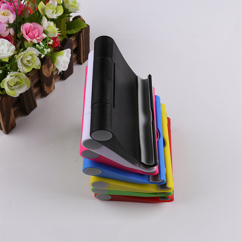 1PC Portable Tablet PC Stand Foldable Phone Holder  Holder Bracket For Cell Mobile Phone Tablets Lazy Bracket  For Iphone Flat