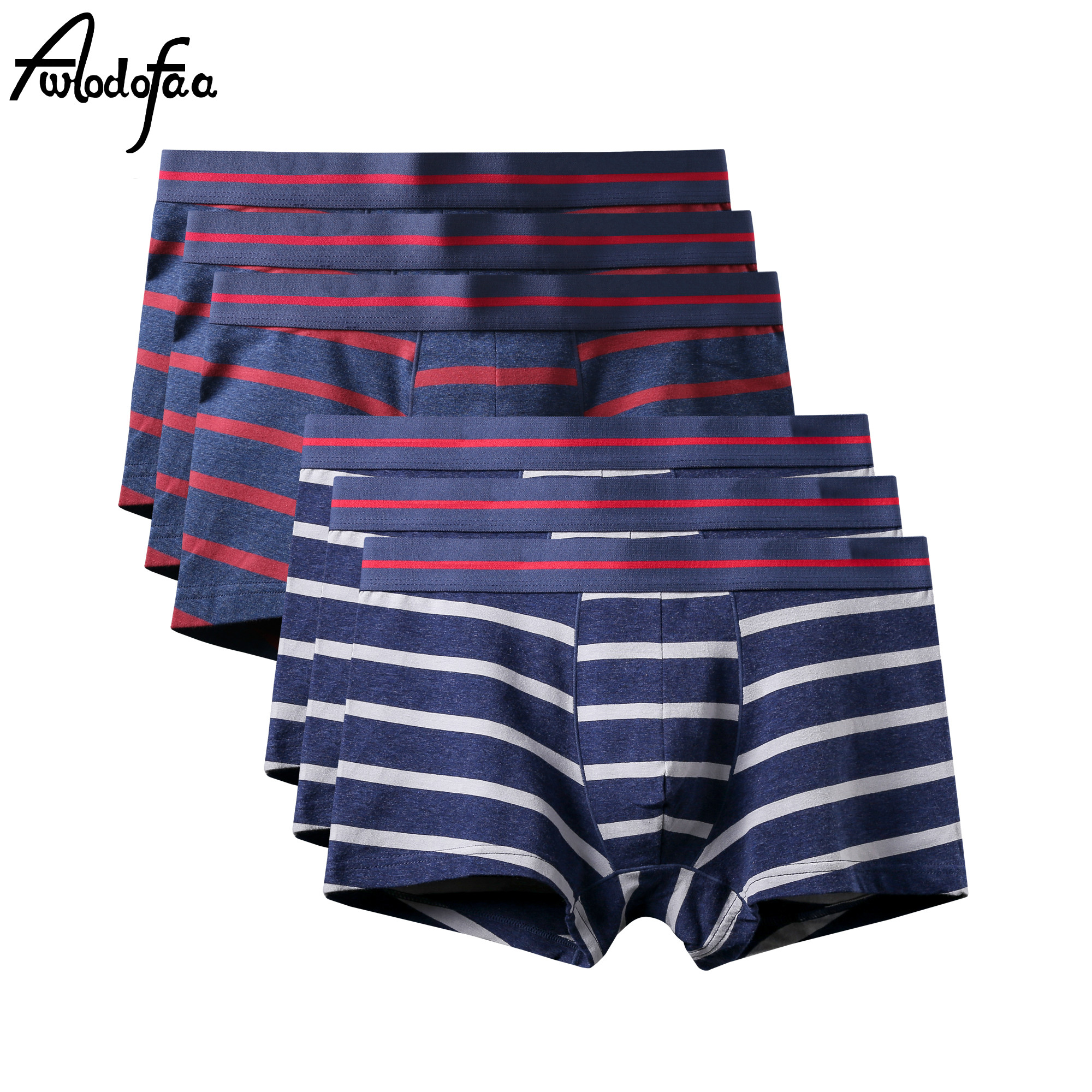 6Pcs/lot Male Panties <font><b>Boxer</b></font> Men <font><b>Boxer</b></font> <font><b>short</b></font> <font><b>Sexy</b></font> Underwear Brand Boxershorts Colorful Breathable Interior <font><b>Homme</b></font> <font><b>Cotton</b></font> Underpant image