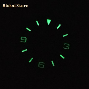 Image 5 - Bliger sterile 29mm luminous watch dial fit ETA 2824/2836,Mingzhu DG 2813/3804,Miyota 8205/8215/821A/82 series movement