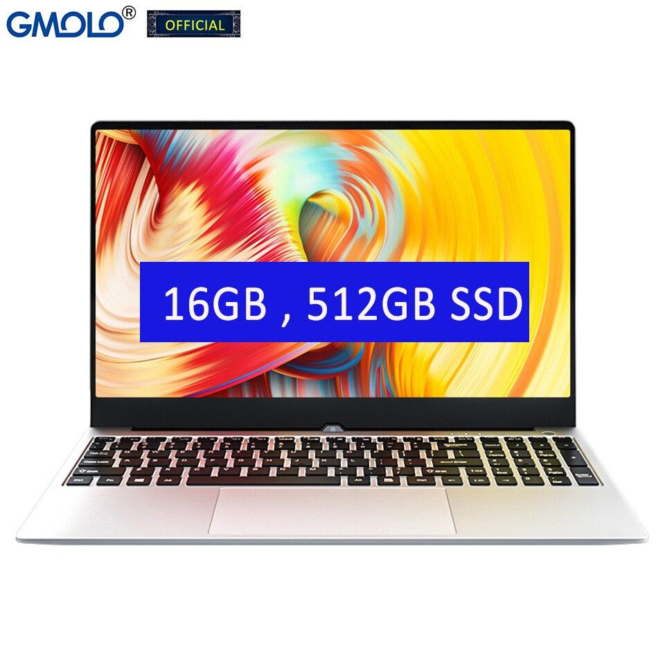 MOLOsuper 15.6inch Core I7 4th Gen 4500U 16GB / 8GB RAM 512GB SSD + HDD HD Screen Windows 10 Gaming Metal Laptop Computer
