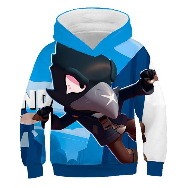 2019 Kids 3D Hoodies Spring, Autum Casual Boys And Girls Sweatshirt Fashion Short Sleeve Cool Soft Children Clothes Kids Hoodies