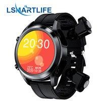 T10 Smart Watch uomo Smartwatch Tws 2 In 1 HIFI Stereo Wireless Headset Combo Bluetooth telefonata per Android IOS