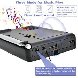 Image 3 - JINSERTA ใหม่ FM/AM/SW วิทยุ Multiband เครื่องรับวิทยุแบบพกพา REC บันทึกเสียงเบส MP3 Player ลำโพง sleep TIMER