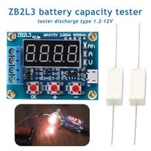 Battery Tester LED Digital Display 18650 Lithium Battery Power Supply Test Resistance Lead-acid Capacity Discharge Meter